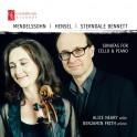 Mendelssohn - Hensel - Sterndale Bennett : Sonates pour violoncelle et piano