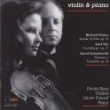 Strauss - Suk - Szymanowski : Oeuvres pour violon et piano