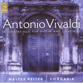 Vivaldi : 12 Sonates pour violon et continuo Op.12