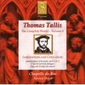 Tallis : Intégrale de l'oeuvre Vol.8