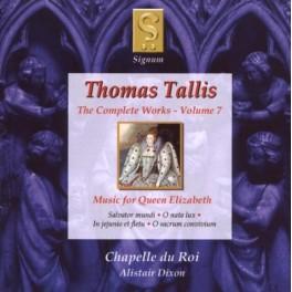 Tallis : Intégrale de l'oeuvre Vol.7