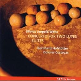 Weiss : Concertos pour deux luths et Suites