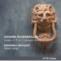 Rosenmüller, Johann : Sonate a 2, 3, 4 è 5 stromenti, da arco & altri