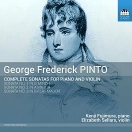 Pinto, George Frederick : Intégrale des Sonates pour piano et violon