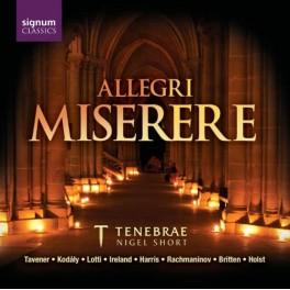 Allegri : Miserere / Ensemble Tenebrae