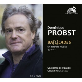 Probst, Dominique : Ba(l)lades, un itinéraire musical 1972-2012