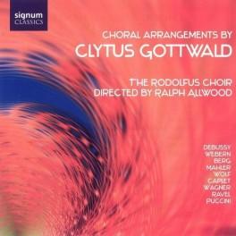 Arrangements pour choeur de Clytus Gottwald sur des oeuvres de Mahler, Debussy, Ravel ...