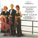 Dohnányi - Reger - Françaix : Sérénade, Trios à cordes