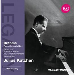 Oeuvres pour piano de Brahms, Chopin, Liszt, Schumann / Julius Katchen