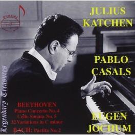 Live Performances de Beethoven et Bach / Julius Katchen