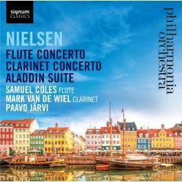 Nielsen : Concertos pour flûte et pour clarinette, Aladdin Suite
