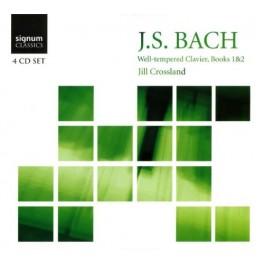 Bach : Le Clavier bien tempéré - Livres 1 & 2 - Jill Crossland