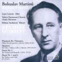 Martinů : Musique de Chambre
