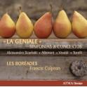 La Géniale, sinfonias & concertos / Les Boréades - Francis Colpron