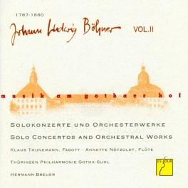 Musique à la cour de Gotha Vol.5 / Böhner : Oeuvres Orchestrales - Vol. 2