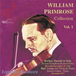 The William Primrose Collection - Volume 1