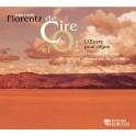 Florentz, Jean Louis : De Cire et Or, l'oeuvre pour orgue