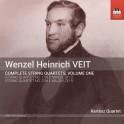 Veit, Wenzel Heinrich : Intégrale des Quatuors à Cordes Vol.1