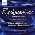 Rachmaninoff pour violon et piano