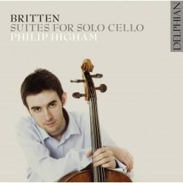 Britten : Suites pour violoncelle n°1 à 3 / Philip Higham