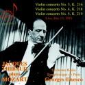 Jacques Thibaud joue Mozart