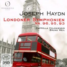 Haydn : Symphonies Londoniennes n°96, 95 et 93