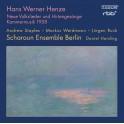 Henze : Neue Volkslieder und Hirtengesänge, Kammermusik 1958