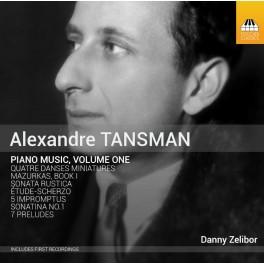 Tansman, Alexandre : Musique pour piano - Vol.1