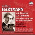 Hartmann : Miniatures et transcriptions pour violon et piano