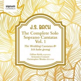 Bach, J-S : Cantates pour soprano solo - Volume 1