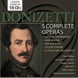 Donizetti : 5 Opéras Intégraux