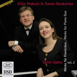 Saint-Saëns : Oeuvres pour 2 pianos ou 4 mains - Vol.2