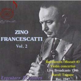 Zino Francescatti Volume 2 : Concertos pour violon