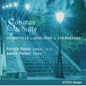 De Bréville - Tournemire - Koechlin : Sonates & Suite
