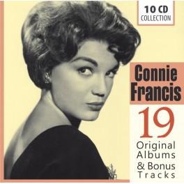 19 Original Albums & Bonus Tracks / Connie Francis