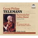 Telemann : Harmonischer Gottes-Dienst Vol.1