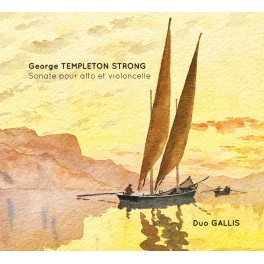 Templeton Strong : Sonate pour alto et violoncelle