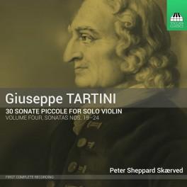 Tartini : 30 Sonate piccole - Sonates n°19 à 24 - Vol.4