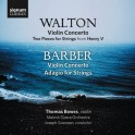 Walton - Barber : Concertos pour violon