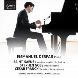 Concertos pour piano & Variations Symphoniques