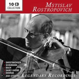 Mstislav Rostropovitch : Enregistrements légendaires