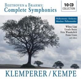 Beethoven - Brahms : Intégrale des Symphonies