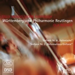 Mendelssohn : Symphonies n°4 et n°5