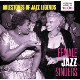 Milestones of Jazz Legends / Female Jazz Singers
