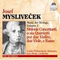 Myslivecek, Josef : Musique pour cordes Volume 1