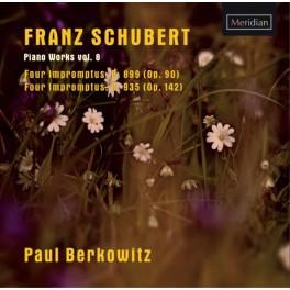 Schubert : Impromptus - Oeuvres pour piano Vol.8