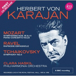 Herbert von Karajan dirige Mozart, Ravel et Tchaïkovski (Richard Itter Collection)