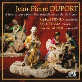 Duport, Jean-Pierre : Six Sonates pour violoncelle et basse dédiées au Roi de Prusse