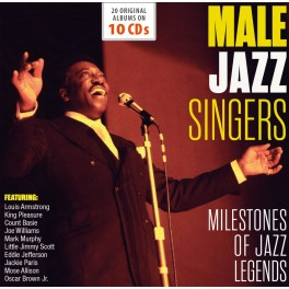 Milestones of Jazz Legend / Male Jazz Singers