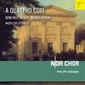 Fasch - Benevoli - Mendelssohn : A Quattro Cori - Musique pour 16 Voix